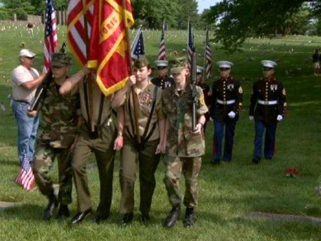In somber Memorial Day ceremonies across Maryland, many took time to pause and honor those military men and women who have made the ultimate sacrifice.