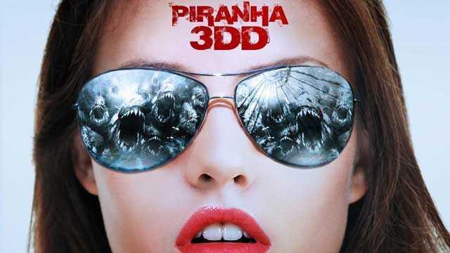 Piranha 3DD movie poster