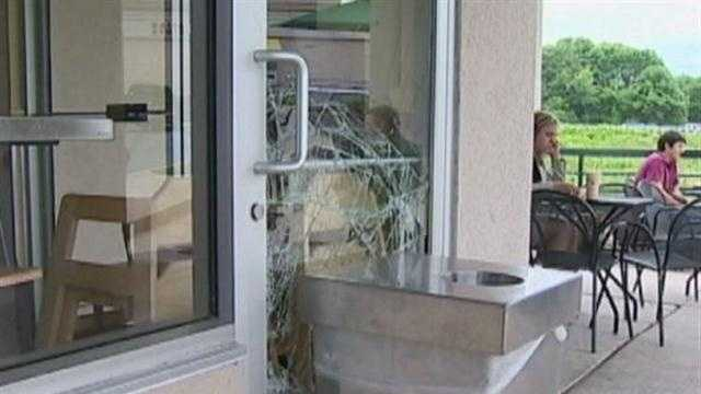 Burglars break through 11 businesses in Columbia, leaving few clues behind.