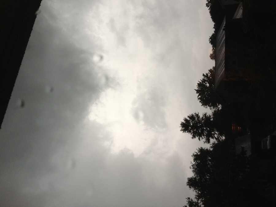 Clouds in Severn.