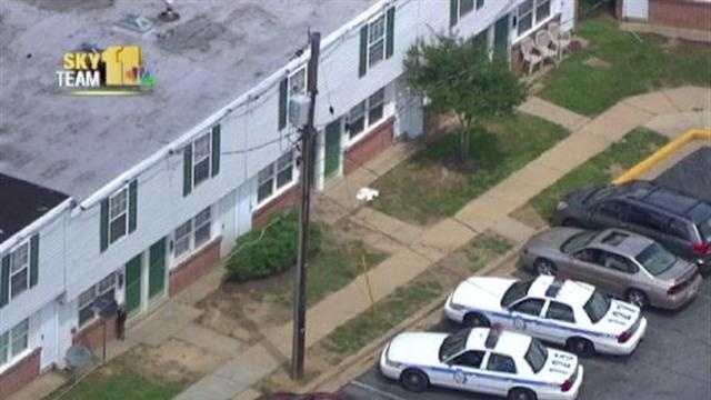Girl stabbed in Baltimore County