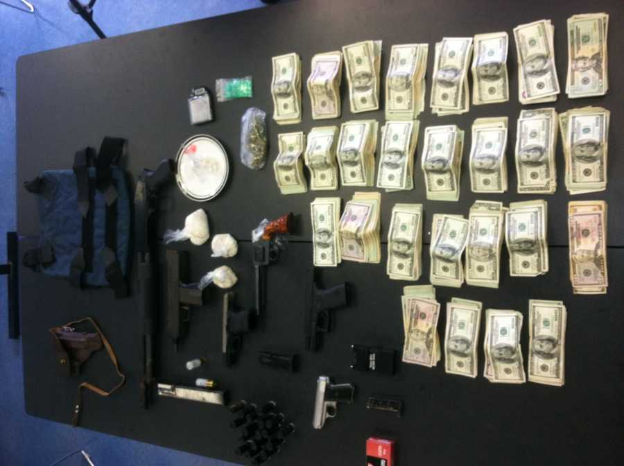 Police in Baltimore City say they arrested a man during a drug bust in the northwest part of the city on Tuesday.