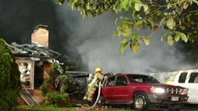 Scaggsville fire