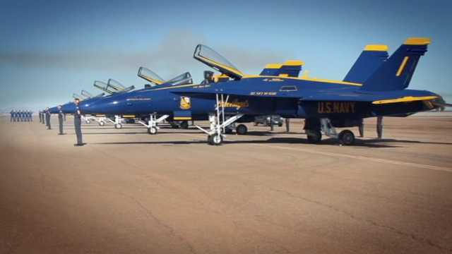 The Navy's Blue Angels are proud to represent sailors and Marines by showing how they use their precise training to fly the aircraft that wows crowds all across the country. All photos courtesy the Department of Defense/U.S. Navy Blue Angels.