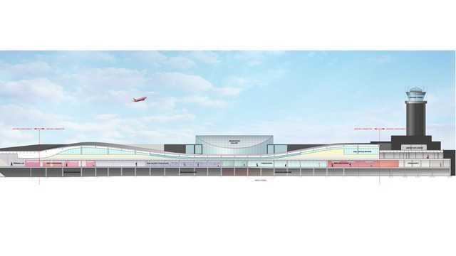 Nearly $100 million in renovations are being made to the terminal areas of BWI Thurgood Marshall Airport. Here's a view of what the expanded concourse will look like.