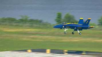A total of 16 officers voluntarily serve with the Blue Angels.