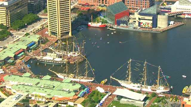 We're snapping pictures all around the Star-Spangled Sailabration festivities in the Inner Harbor, and we invite you to share your pictures and videos on u local.