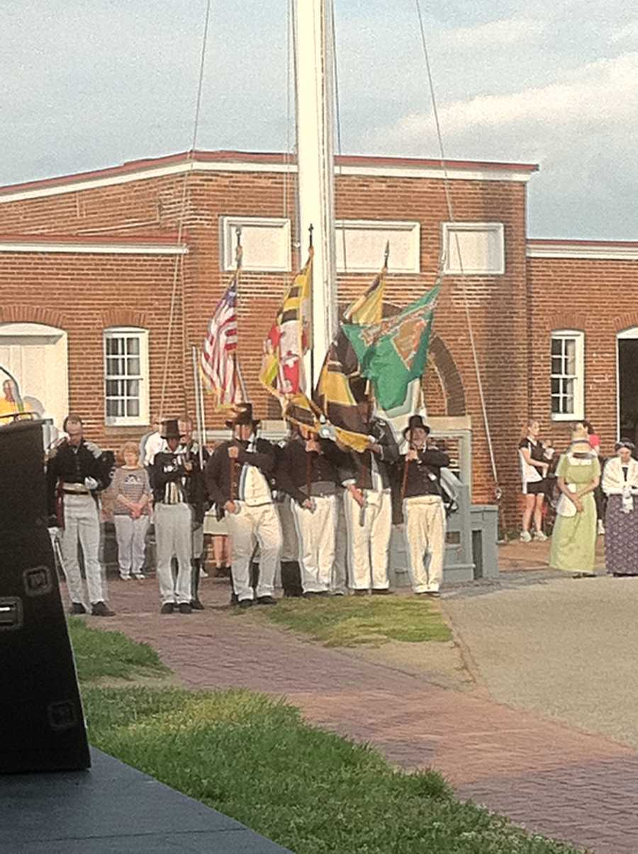 "Thursday's ""Pause for the Pledge"" event took place at Fort McHenry."