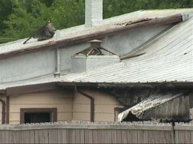 Fire and police arson investigators continue to investigate a cause of the blaze.