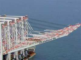 The Port of Baltimore ultimately welcomed the arrival of the m/v Zhen Hua 13, which left China in April.