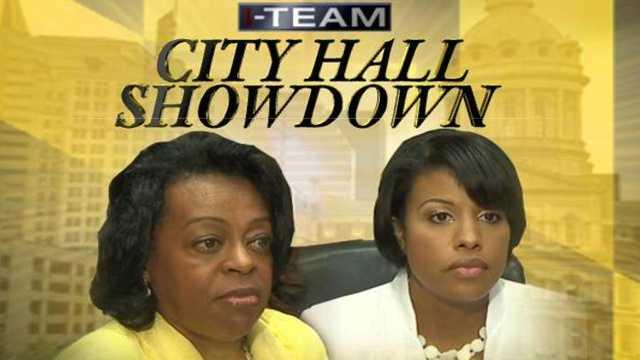 City Hall showdown - Pratt-SRB