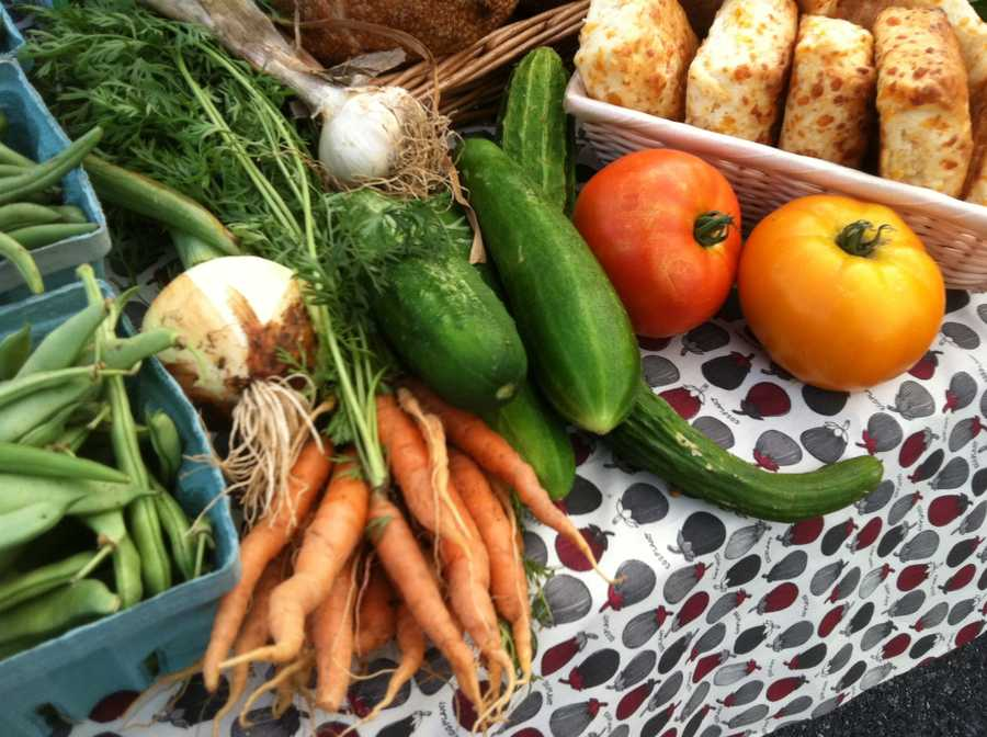 The farmers' market opens Tuesday and will offer tons of fresh produce, breads and other local culinary delights.