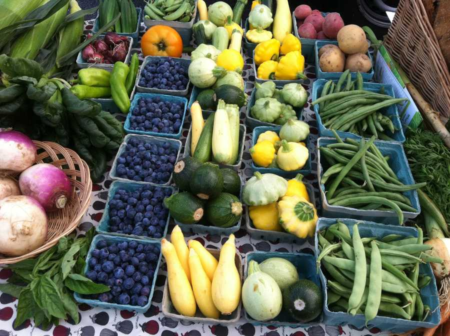 The farmers' market will open every Tuesday from 3:30-6:30 p.m. until Nov. 20.