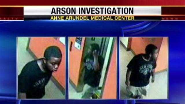 The Anne Arundel County Fire Department is seeking the public's help to find an arsonist.