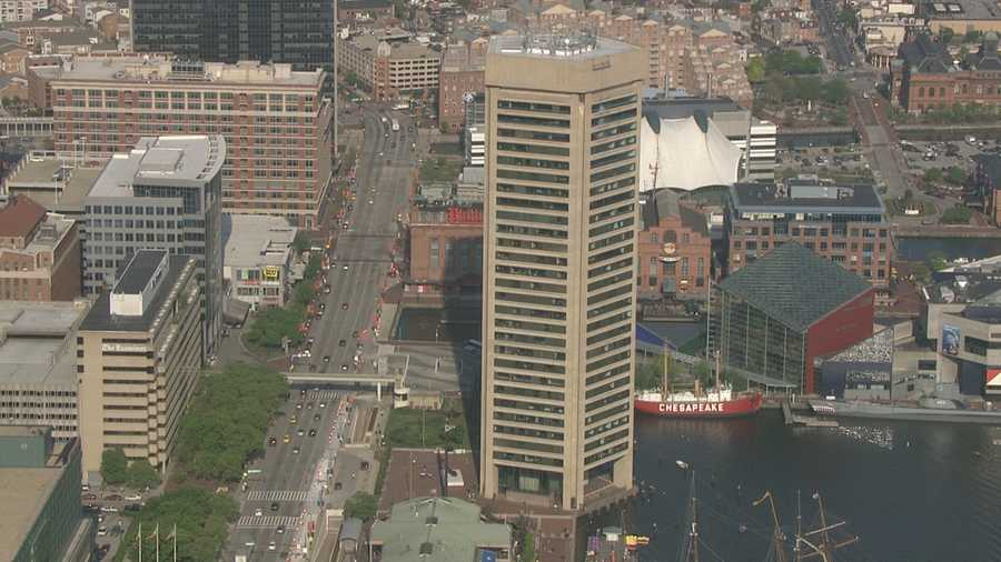 WBALTV.com asked area officials to help identify the tallest buildings in the Baltimore area. Then, we sent SkyTeam 11 to take us on an aerial tour of the buildings you'll likely recognize very quickly. Also, see some of the world's tallest buildings.