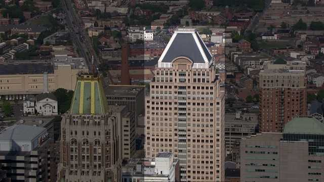 Fourth on the list is Commerce Place (formerly Alex Brown, Deutsche Bank) in the 300 block of East Baltimore Street. It stands at 454 feet.