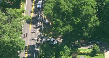 Harford Road and Reckord Road were closed in both directions in that immediate vicinity for the investigation.