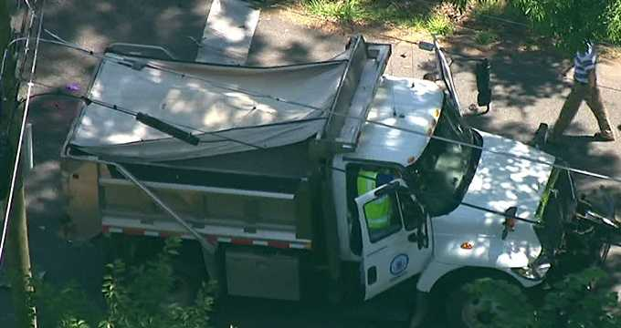 Police said the motorcycle driver, identified only as a 24-year-old man from Bel Air, was flown to Shock Trauma, where he later died.