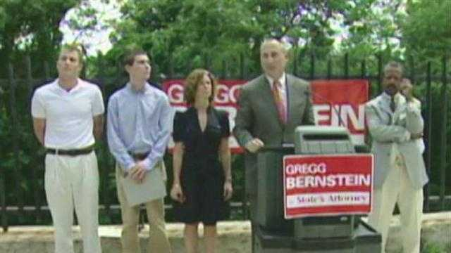 Owen Bernstein (second from the left) is pictured here with his brother, step mother and father, Baltimore City State's Attorney Gregg Bernstein.