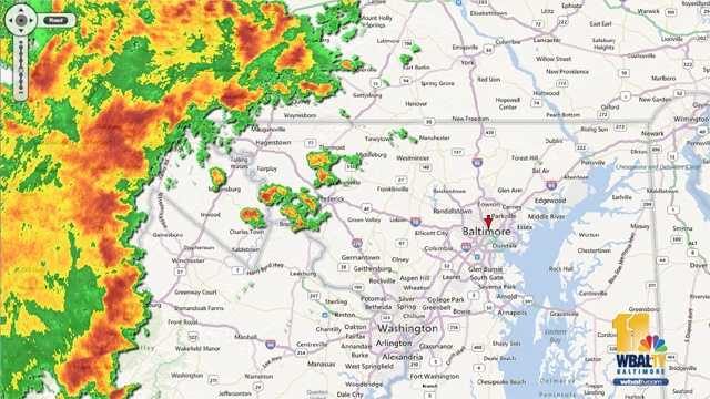 The calm before the storm. Shortly after 9:30 p.m., the line of severe storms moved over the Western Maryland mountains. John Collins blogs about what a derecho is, and what hit Maryland on June 29.