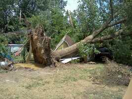 Parkville Storm Damage
