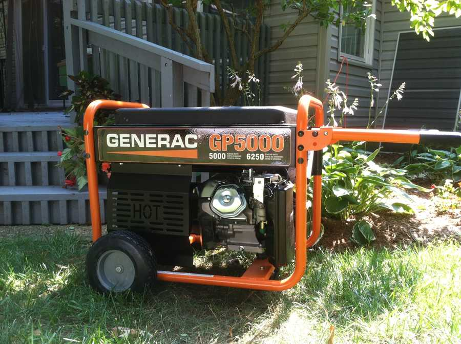 Hundreds of thousands of Marylanders lost power in the storm, and some are using generators to power their properties.