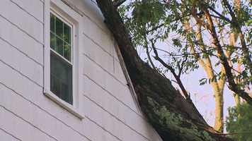 Woodlawn, Baltimore County, storm damage