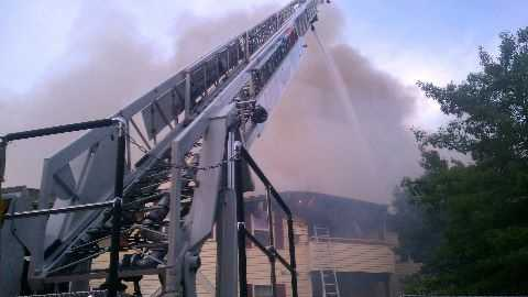 Howard County 3-alarm fire