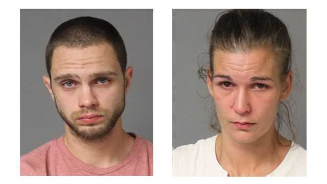 Police said 26-year-old Mark Adrian Smith, of Pasadena, and 33-year-old Heather Nicole Usher, of Hyattsville, were arrested in connection with an auto parts theft. Police said both individuals had open warrants for various offenses.