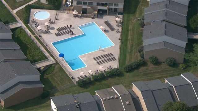 Saddlebrook Apartments pool