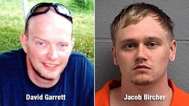 Shooting victim David Garrett, (left)&#x3B; Jacob Bircher (right)