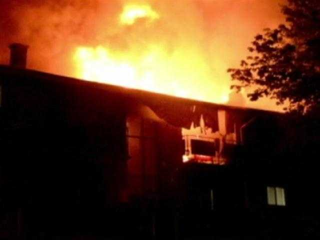 Nearly two dozen families are displaced after a two-alarm fire destroyed several apartments in Randallstown.