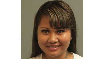 Police said 19-year-old Nary Sun, of Oakland, Calif., was arrested and charged with prostitution and possession of marijuana.