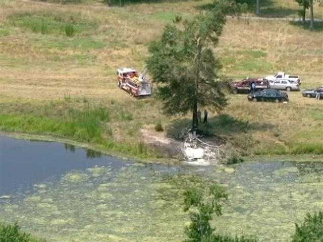 Police said they believed the pilot was the sole occupant of the plane at the time of the crash.