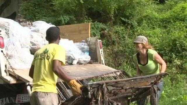 Gwynns Falls Cleanup