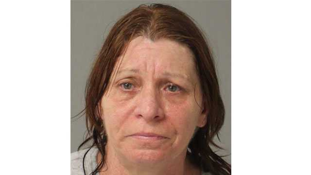 Anne Arundel County police said Joan Della Lott, 52, faces charges of possession with intent to distribute marijuana and possession of marijuana.