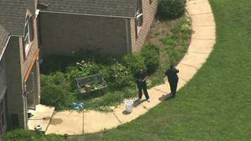 Authorities said they believe a 32-year-old man shot his wife and child before killing himself.