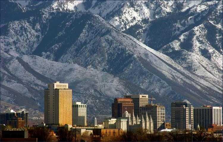 1. Salt Lake City