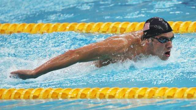 Michael Phelps, 2008 Olympics, 400-meter individual medley