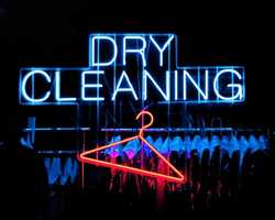 Non-commercial dry cleaning services