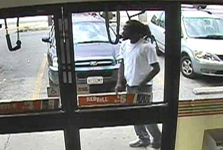 Baltimore police release surveillance photos in connection with a stabbing at a convenience store.