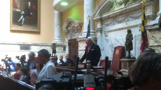 And, that special session started late Thursday morning on the Senate floor.