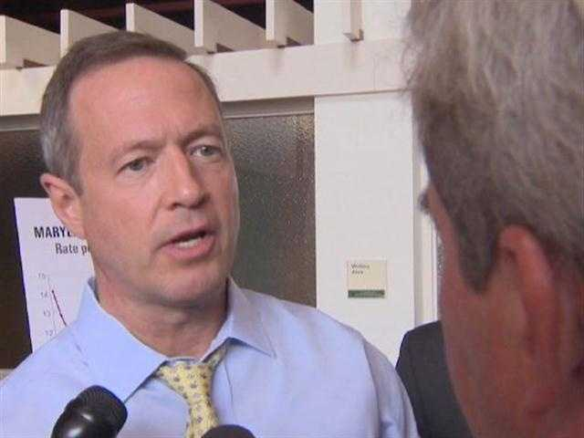 "Speaking to WBAL-TV 11 News reporter David Collins, Gov. Martin O'Malley said Wednesday, ""David, I'm so sick of this issue. I just want to get it behind us."""