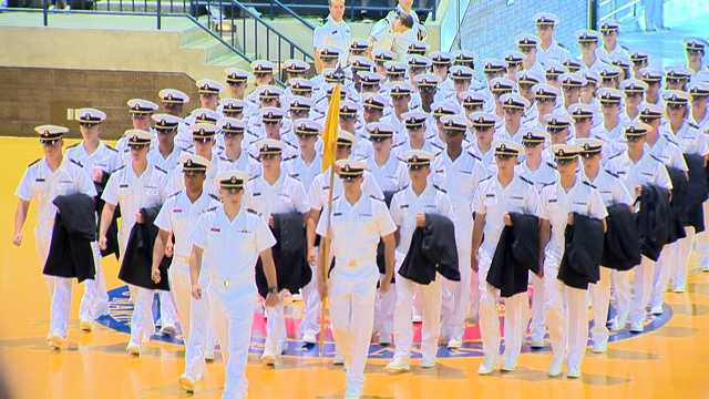 The general public and plebe families are invited to attend the plebe formal parade on Worden Field Saturday at 9:30 a.m.