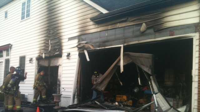 Britton Lane, fire, Ellicott City