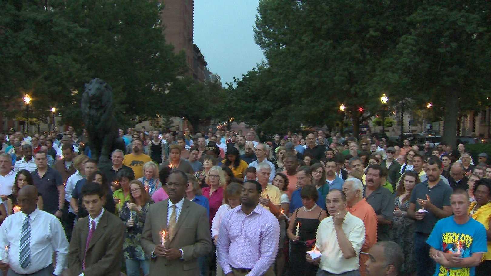Mount Vernon vigil