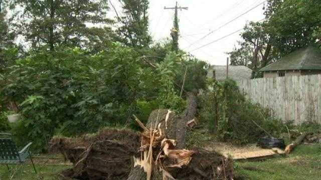 Storm cleanup Aug 15