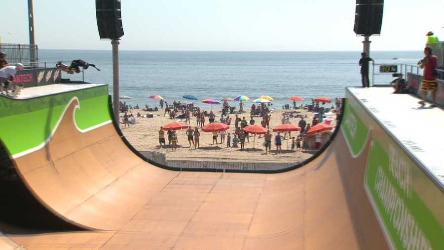 The popular extreme sport competition known as the Dew Tour is making one of just three stops in the nation in Ocean City.