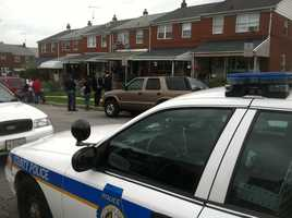 Police in Baltimore County are investigating an apparent homicide in Dundalk.