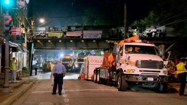 Two 19-year-old women died in a massive train derailment in Ellicott City.